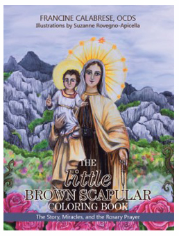 The little Brown Scapular Coloring Book